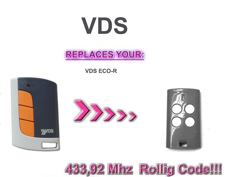 VDS ECO-R handsender  duplicator  VDS  rolling code   keyfob remote control
