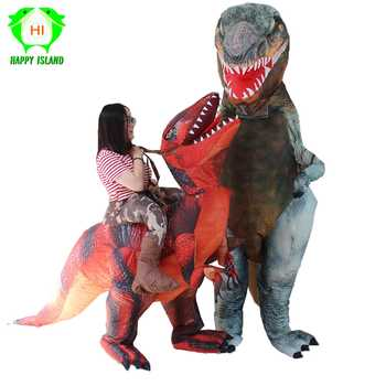 New Style Giant T-REX Dinosaur Inflatable Costumes Halloween Party Costume Cosplay Costume for Adult - DISCOUNT ITEM  50% OFF All Category