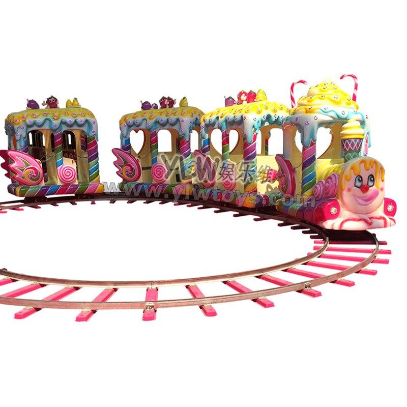 electric rail train kiddie ride on toy amusement kiddie ride YLW-KT1609