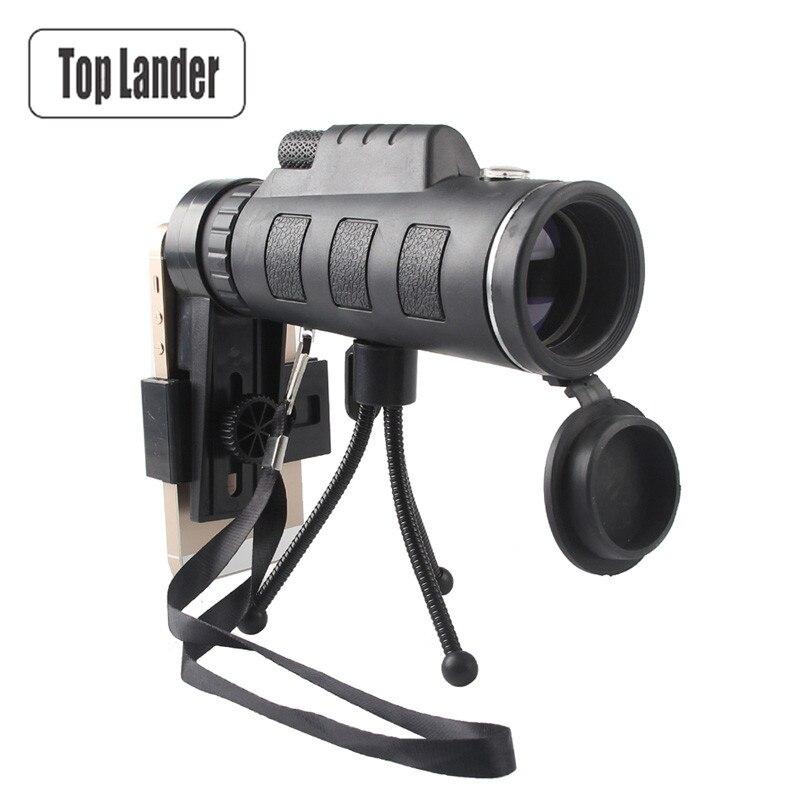 Télescope monoculaire compact vision nocturne 40x60 Binoculaire Zoom Optique HD Lentille Haute Zoom Monoculaire Extérieure Télescope Pour La Chasse