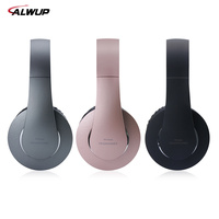 ALWUP Wireless Headphone Bluetooth Headset Stereo Music Earphone For Cell Phone PC Gaming With Microphone MP3