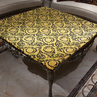 New Arrivlas European Party tablecloth dining table cover for wedding HD printing table cloth decorative