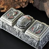 3 Grid Vintage European Korean Princess Jewelry Box Desktop Storage Box Home Decoration Desk Sets