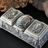 3 Grid Vintage European Korean Princess Jewelry Box Desktop Storage Box Home Decoration Desk Sets