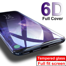 6D Full Curved Screen Protector Film For Samsung Galaxy S10 S9 S8 Plus Tempered Glass For Samsung Note 9 8 Galaxy S7 S6 Edge все цены