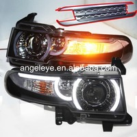For Toyata 2008 2014 year Cruiser FJ LED Headlights plus grill YZ
