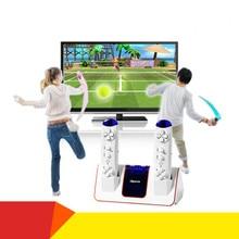 Cdragon ET-31 aptidão duplo sentido corpo casa máquina de jogo TV interativa sem fio lidar com sensor frete grátis