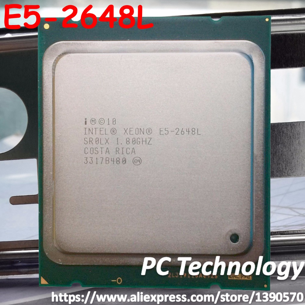E5 2648 L Original Intel Xeon E5 2648L 8 CORE 1 8GHZ 20MB LGA2011 70W PROCESSOR