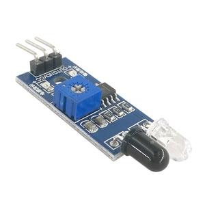 Image 3 - MCIGICM 200pcs Smart Car Robot Reflective Photoelectric 3pin IR Infrared Obstacle Avoidance Sensor Module for arduino Diy Kit