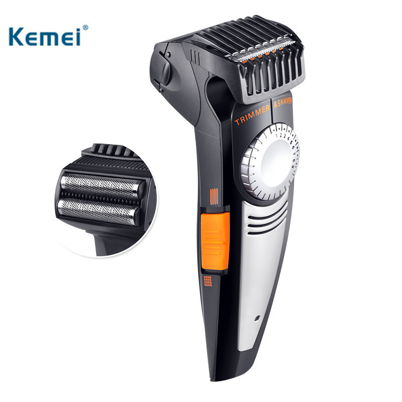 Kemei Multifunction Men Electric Shaver 2 In1 Rechargeable Electric Shaver Washable Shaving Razors Men Face Care Hair Removal the new high quality razors man shaving machine 4 d waterproof rechargeable electric shaver crime three head hair removal device