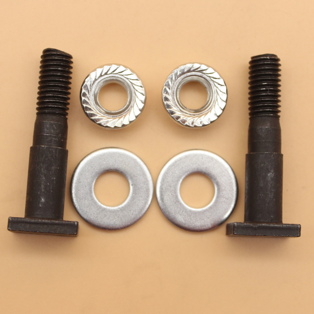 Disciplined Bar Nuts Stud Kit For Husqvarna 181 266 268 268k 268 272 272k 272s 272xp 281 288 3120 362 365 371 372 Chainsaw Garden Power Tools