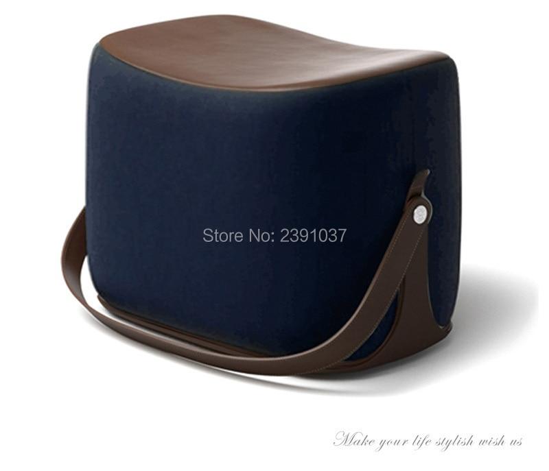 Tremendous New Creative Modern Sofa Ottoman Stool Portable Handle Dailytribune Chair Design For Home Dailytribuneorg