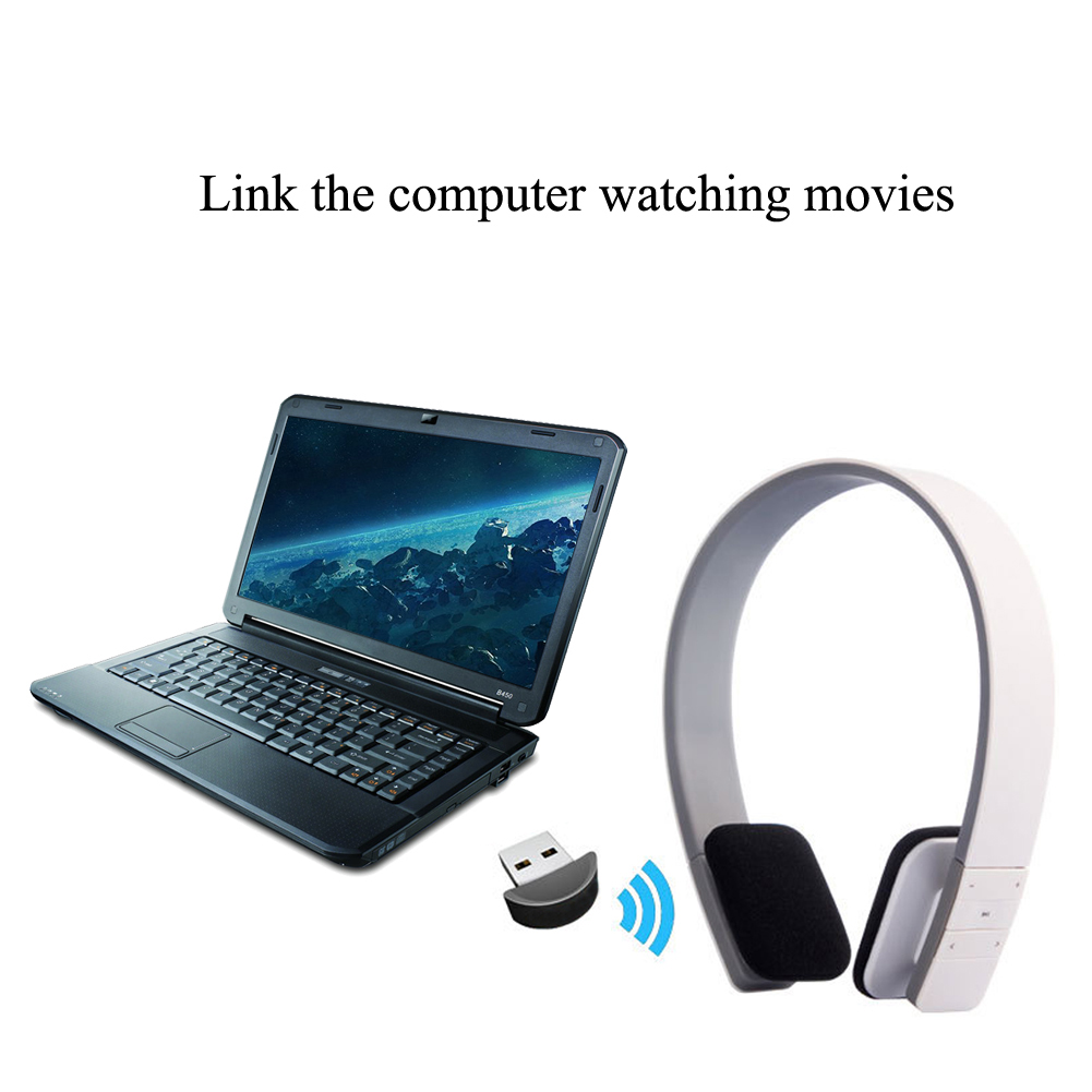 LC-8200 Handsfree Bluetooth V4.1 Headfone Casque Audio Wireless Headset Stereo Earphone Cordless Headphone for Computer PC Phone