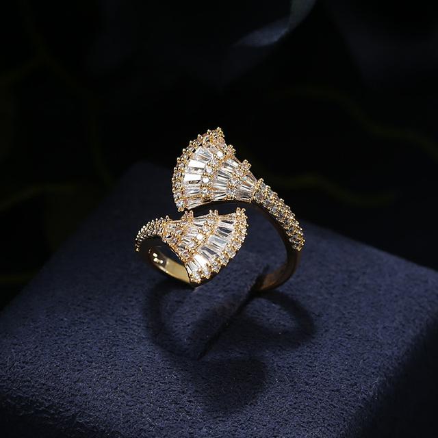 Multi-layered Baguette Ring