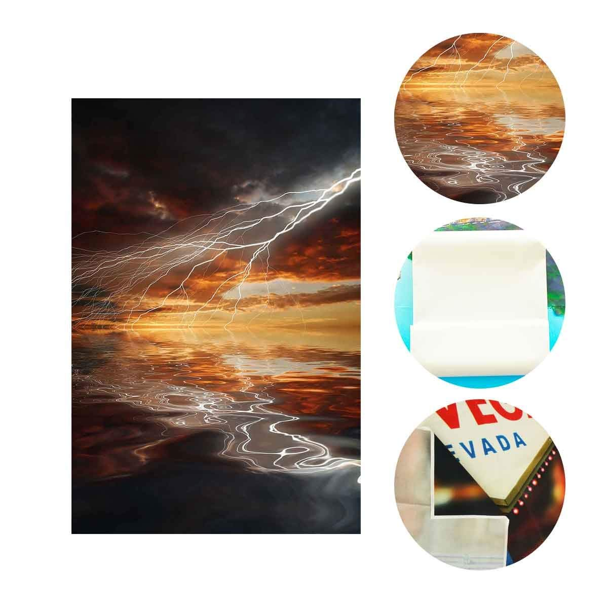 Купить с кэшбэком 150x220cm Lightning Backdrop Dark Clouds Lighting Character Theme Party Photography Background