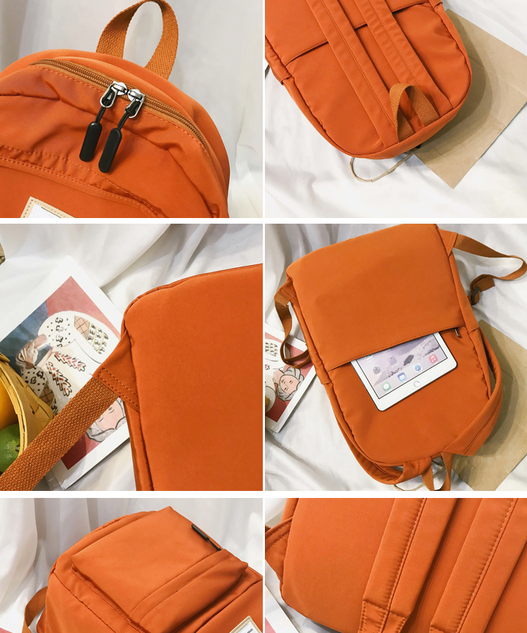 HTB1RWKia8Kw3KVjSZTEq6AuRpXap 2019 New Backpack Women Backpack Fashion Women Shoulder nylon bag school bagpack for teenage girls mochila mujer