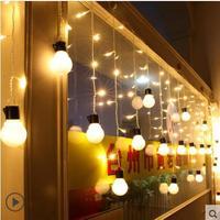 1 5x0 5M New Year Garland LED Christmas Lights Navidad LED Cristams Decoration Curtain Fiary Lights