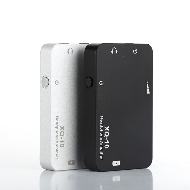 XDUOO XQ-10 XQ 10 Mini Portable Earphone Amplifier Headphone AMP Playback time 20 hours xq hd black