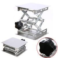 Adjustable Laboratory Lifting Platform High Quality Stainless Steel Lab Scissor Stand Rack 100 100mm