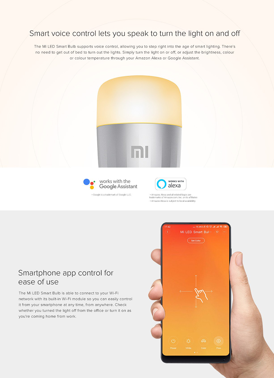 Xiaomi Mi Smart LED Smart Bulb Essential (White and Color) 5