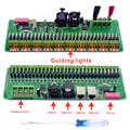 DMX Decoder 30 Kanalen RGB LED Strip Verlichting Driver DMX 512 Geen Plastic Doos Controller DC 9 V-24 V DMX512 Dimmer