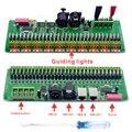 Dmx-декодер 30 каналы RGB Светодиодные ленты водитель фары DMX 512 Диммер без Пластик Box DC 9 V-24 V DMX512 контроллер
