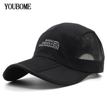 YOUBOME Brand Men Baseball Cap Women Snapback Caps Hats For Men Embroidery Mesh Summer Casual Casquette Bone MaLe Dad Cap Hat high quality cap brand baseball caps men women racing cap man hat sports hats bone embroidery brand casquette k pop drake hat