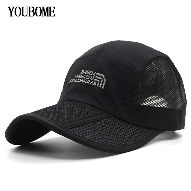 cb3e26fe7e4 YOUBOME Brand Men Baseball Cap Women Snapback Caps Hats For Men Embroidery  Mesh Summer Casual Casquette Bone MaLe Dad Cap Hat