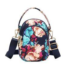 2019 New Women Nylon Phone Messenger Handbag Purse Shoulder Bags Mini Crossbody Pouch Handle Bag
