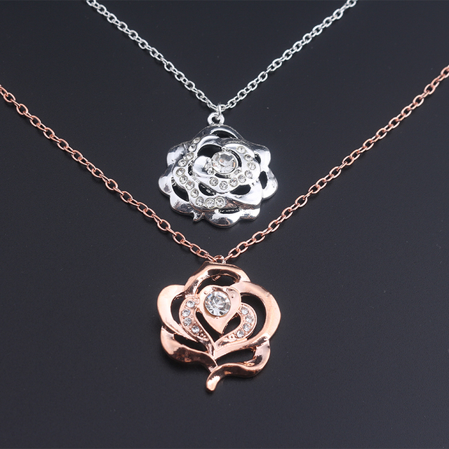 product pendant image necklace flower apollobox for array pressed