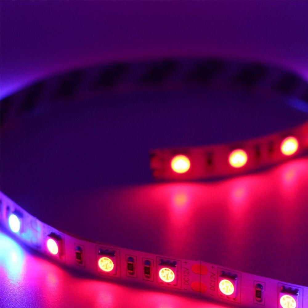 Mabor 5 м завод СИД Цветочная светать бар Клейкие ленты красные, синие 5:1 лампы Газа Водонепроницаемый завода светать