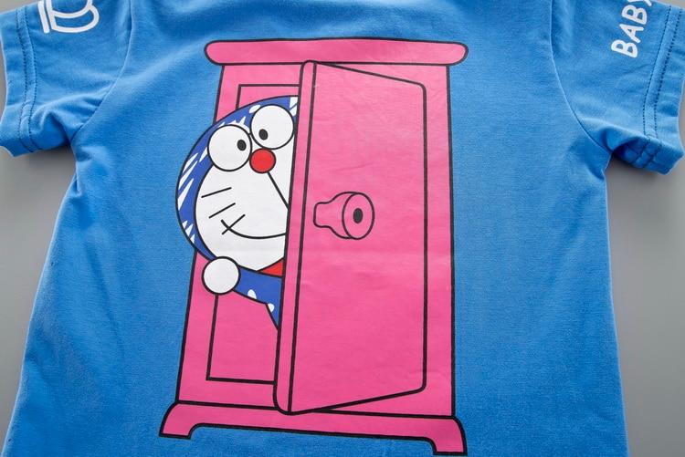 Cartoon Toddler Boy Clothes Summer Set 2 Color T Shirt Short Jeans Children Clothing Short Sleeve Shirt Boys Suit Baby Tracksuit 5