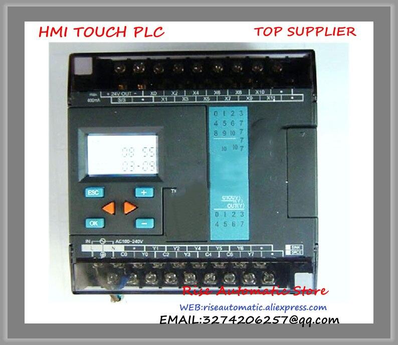 FBs-20MCR2-AC Fatek PLC AC220V 12 DI 8 DO relay Main Unit New Original fbs 16xyr fatek plc 24vdc 8 di 8 do relay module new in box