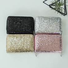 Glamorous Sequined Small Women's Purse