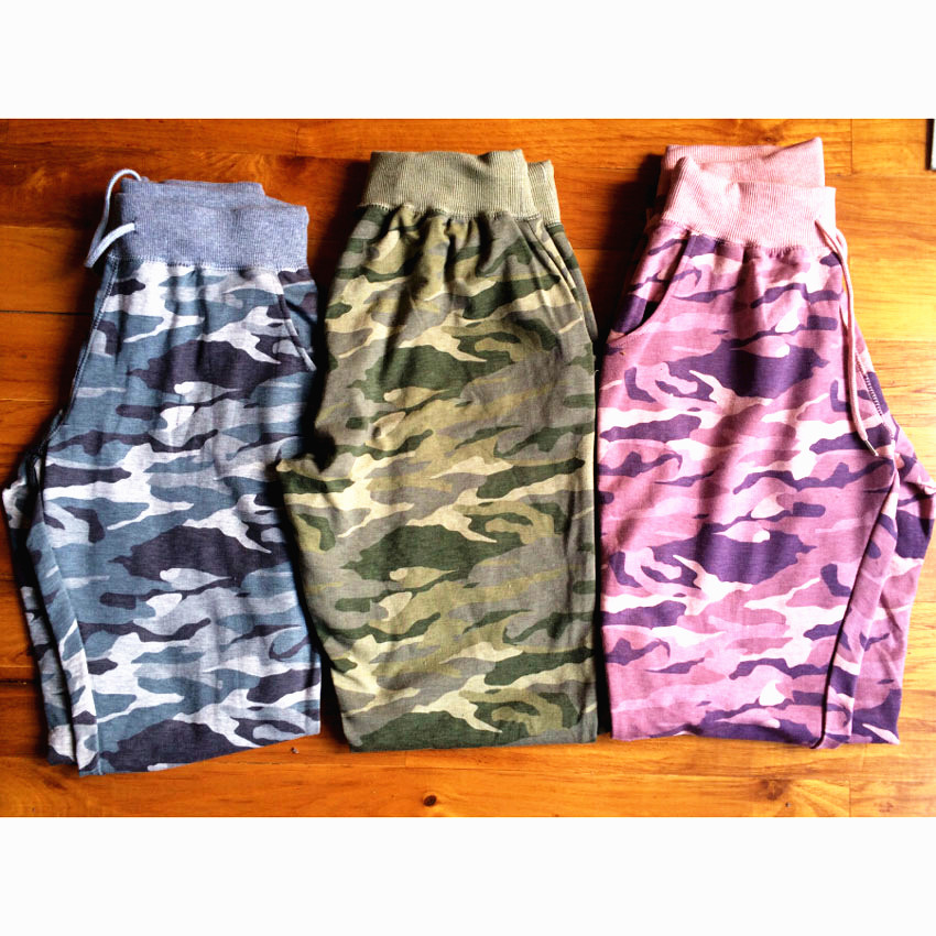 High Quality Spring/Autumn Women's Camouflage Pants Female High Waist Cotton Sweatpants Women Camouflage Pants Skinny Trousers