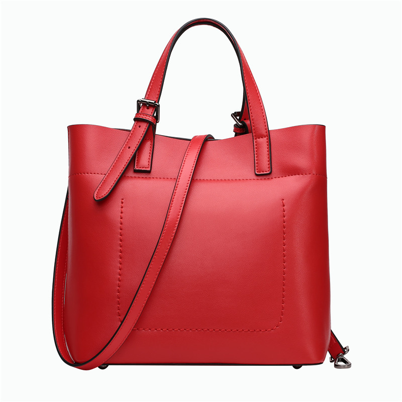 Nesitu Purple Black Red Grey Khaki Split Leather Women Leather Handbags Ladies Shoulder Bag Messenger Bags Female Tote #M0775 aquapulse 4122b grey black