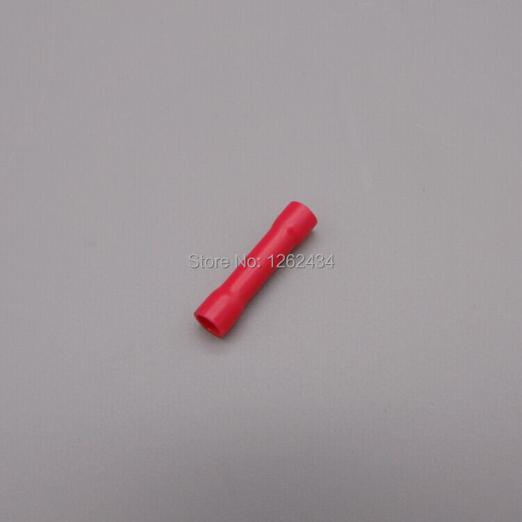 BV1.25 Tubular insulating joints wire connector head cold press terminal