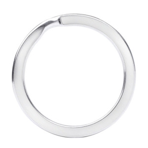 Image 4 - Stainless Steel Key Ring Flat Ring Metal Accessories Wire Dia 1.5/1.6/1.8/2.0/2.2/2.4/2.6mm Key Chain Holder Wholesale 300pcs
