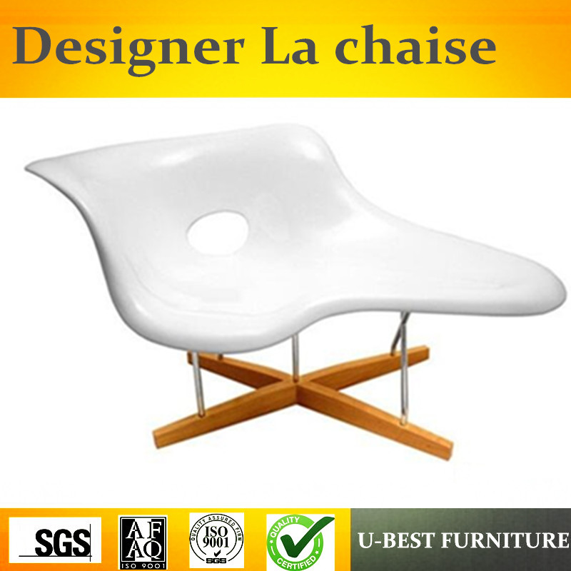U-BEST Replica Charl es La Chaise lounge chair by fibreglass,wave chaise lounge,lounge chair dg home кушетка le corbusier chaise lounge black