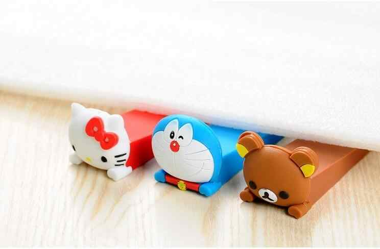 Infant Door Stop Stoppers slamming prevent finger injure Children Baby Safety Gate Doorway Kids Rubber Guard protection Lock