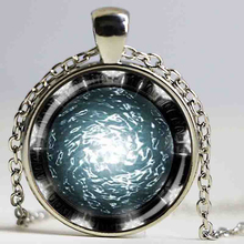 stargate portal universe necklace Fashion Jewelry for men and women