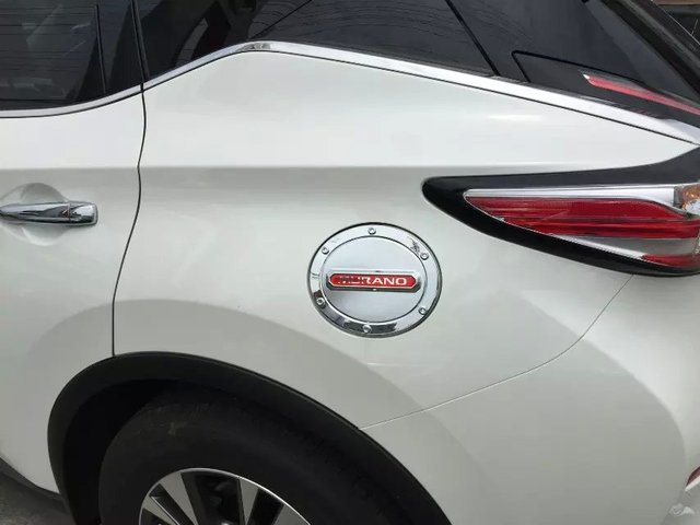 Auto chrome accessories,oil tank cover trim for  MURANO 2015 ,Type A,,free shipping