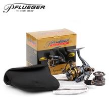 Pflueger Brand 9225XT / 9230XT / 9235XT Supreme XT Spinning Fishing Reel 10BB Freshwater Carp Fishing Gear for Feeder Fishing