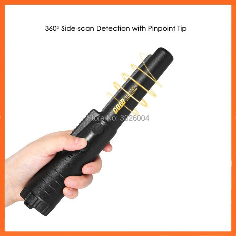 High sensitivity hobby metal detector gold hunter pro pointer pinpointer gold detector brand new handheld metal detector pro pointer full waterproof mini locating detector pinpointer wholesale high sensitivity