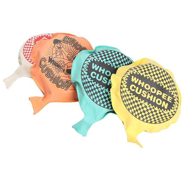 1 set Whoopee Cushion Scherzi Bavaglio Scherzi Maker Gag Scherzi Pratici Giocattoli Della Novità Trucco Giocattolo Divertente Fart Pad Fashion