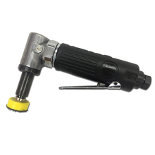 Pneumatic Tools Right Angle 90 Degree Mini Repair Point Track Sander Air Polishing Machine 1 Inch Pad Tool