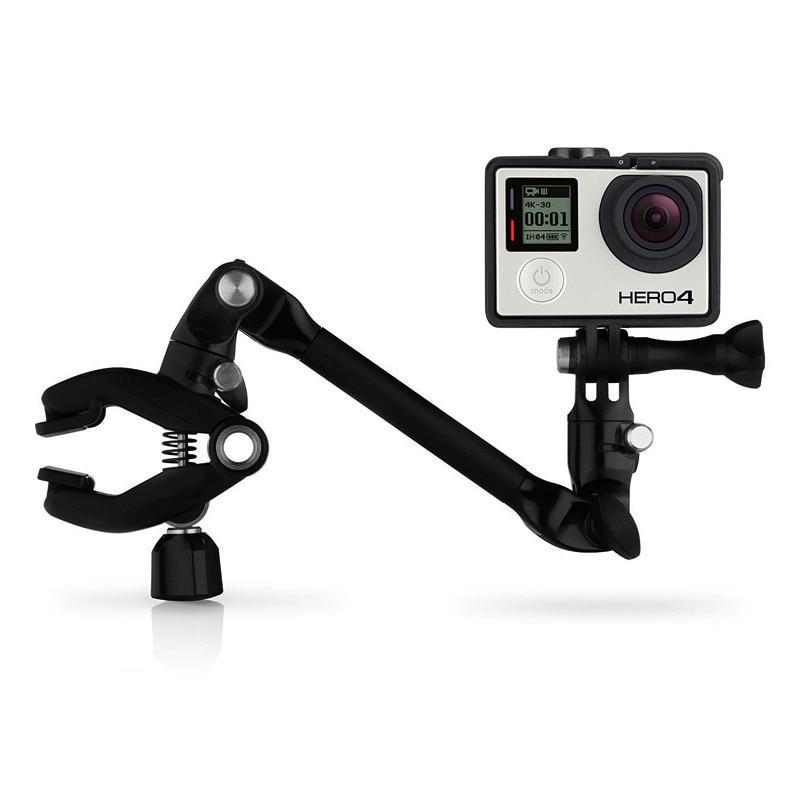 Go pro petite fourmi nouveaux accessoires pour GoPro Jam xiaoyi/sjcam/GoPro clip de musique 360 degrés support de réglage de rotation