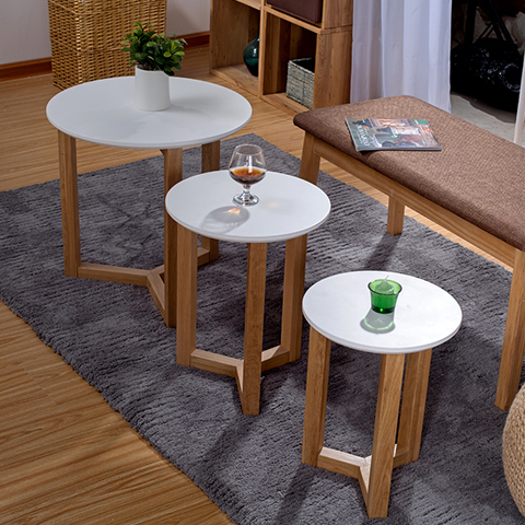 Aidai Small Apartment Home Simple And Stylish Coffee Table Small Coffee  Table Sofa Side Table Wood Coffee Table A Few Corner A F In Coffee Tables  From ...