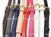 width 1.6cm free shipping suit case repair parts bags belt shoulder  bag PU belt bag shoulder strap PU bag belt
