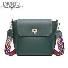 LYKANEFU Marke Frauen Tasche Damen PU Künstliche Kleine Frauen Messenger Bags Weiblichen Handtasche Hohe Qualität